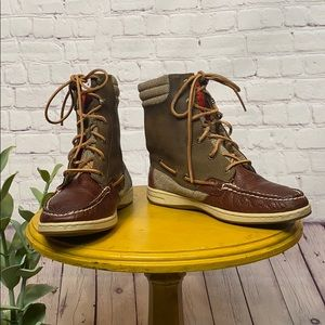 Sperry Top Sider Hikerfish ankle boots leather